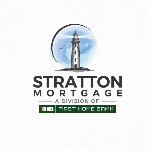 Lighthouse brand with the title 'Stratton Mortgage'
