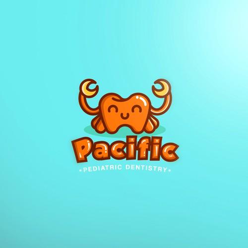 Pediatric design with the title 'Logo Pacific'