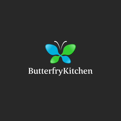 Dinner design with the title 'Butterfry Kitchen'