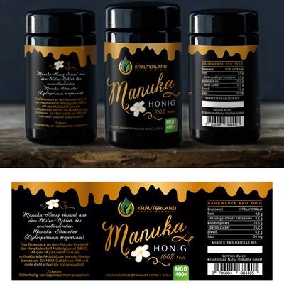 Label for Manuka Honey