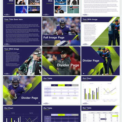 PowerPoint template for Leaders Performance Institute