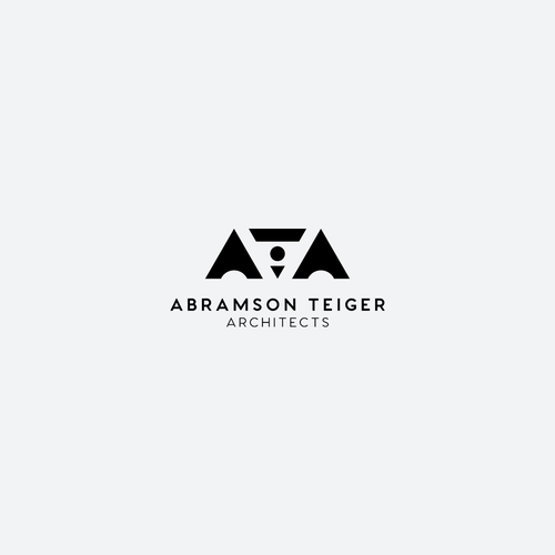 Architect logo with the title 'Geometric logo for award winning architectural agency'