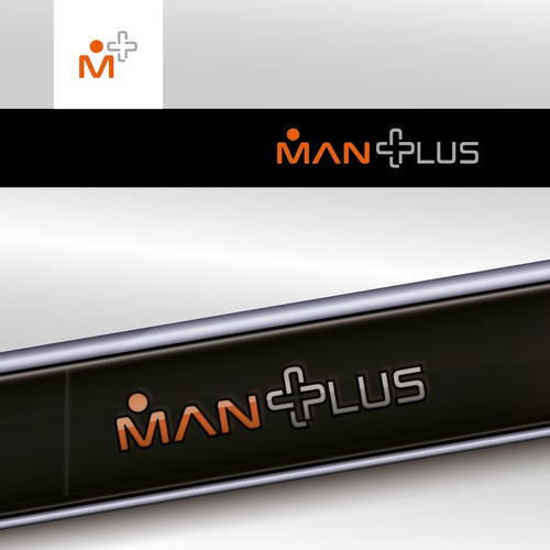 Plus logo with the title 'Man Plus'