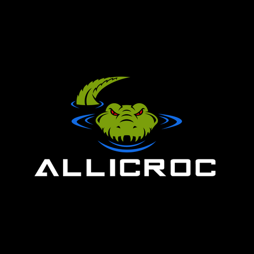 Alligator logo with the title 'ANGRY CROC 2'