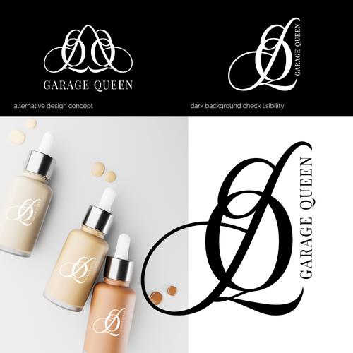 Alternative logo with the title 'GQ Branding'