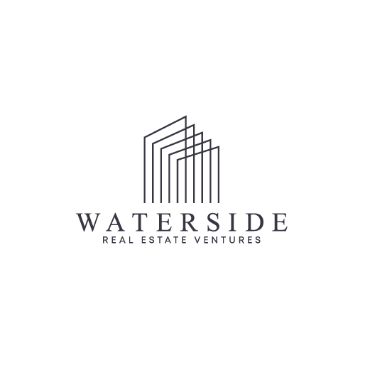 Estate brand with the title 'Waterside'