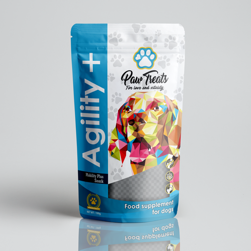 Logo packaging with the title 'wpap logo design'