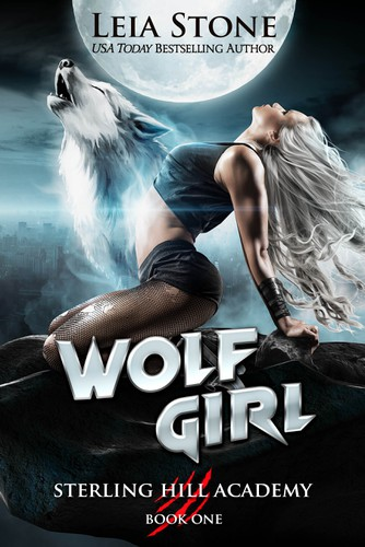 Magical design with the title 'Wolf Girl'