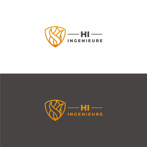 Fire brand with the title 'Concept Logo For Hi Ingenieure'