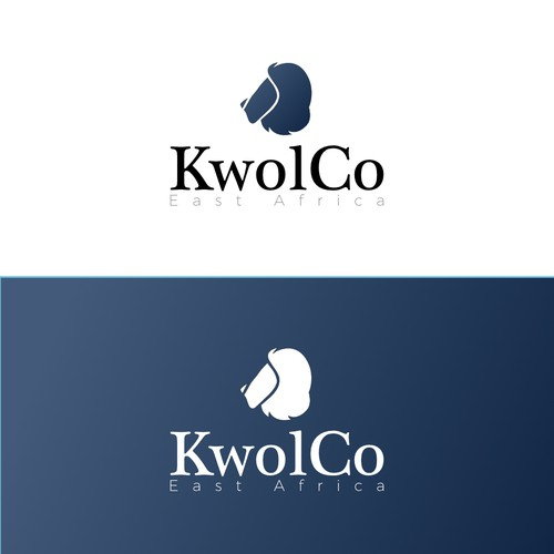 Navy blue logo with the title 'KwolCo'