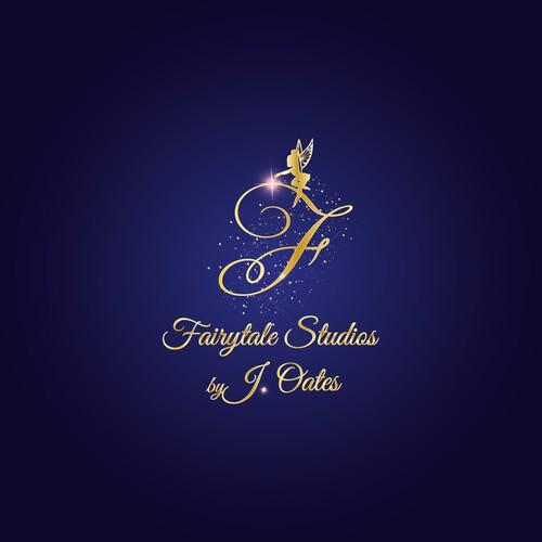 Fairy tale logo with the title 'Fairytale studios'
