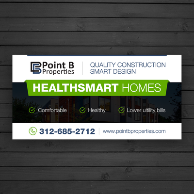Signage for Point B Properties