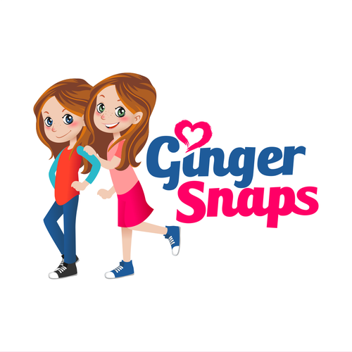 Podcast logo with the title 'Ginger Snaps'