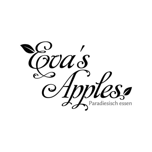 Baroque logo with the title 'Eva's Apples'