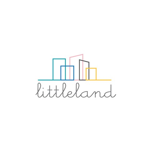 Scandinavian design with the title 'Creative logo for the unique child space.'
