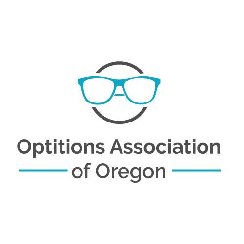Oregon design with the title 'Logo for Eye Association'