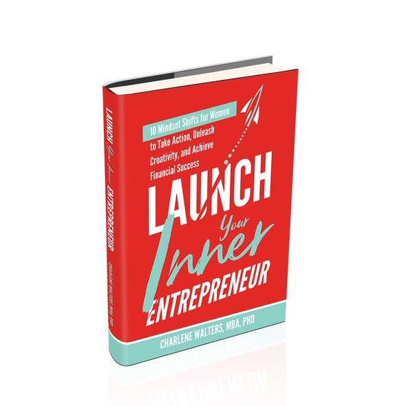 Launch design with the title 'Book Cover Design'