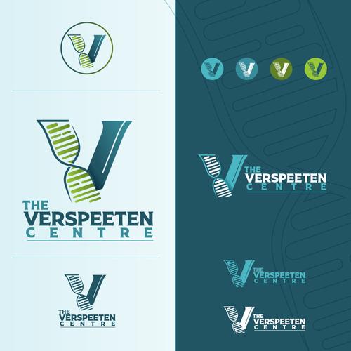 DNA brand with the title 'The Verspeeten Center'