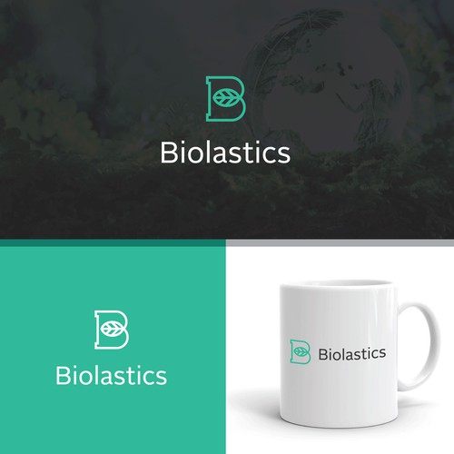 Bio design with the title 'Logo for a company that wants to re-invent the plastics industry'