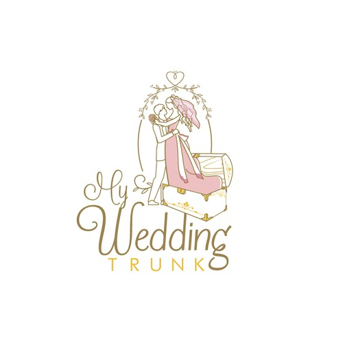 Bridal design with the title 'My wedding Trunk'