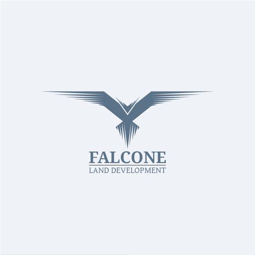 Falcon brand with the title 'falcone logo'