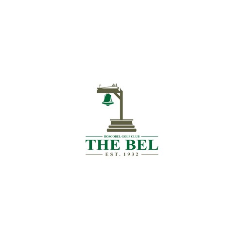 Bell logo with the title 'The Bel Logo Design'