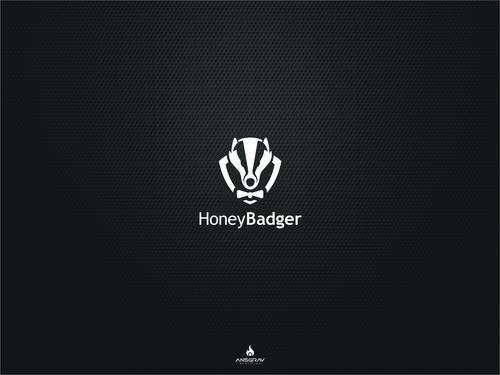 Badger logo with the title 'Honeybadger.io is very excited to find a new and innovative logo!'