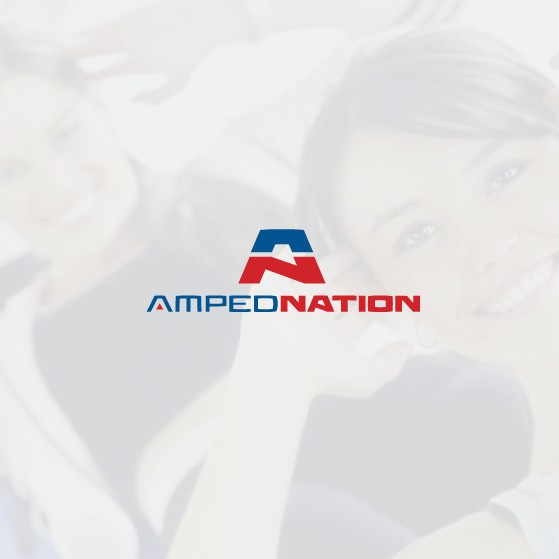 Nation logo with the title 'simple but awesome logo for fitness group'
