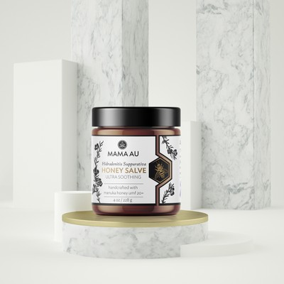 Luxury label design for Honey Salve