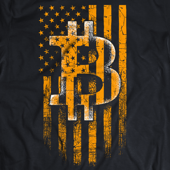 Money t-shirt with the title 'Bitcoin Inspired Design'