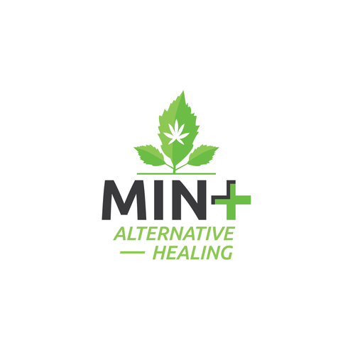 Mint design with the title 'Mint Cannabis'