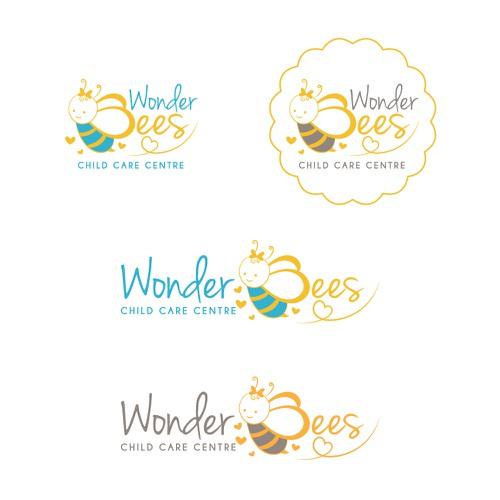 Wonder design with the title 'Wonder Bees'