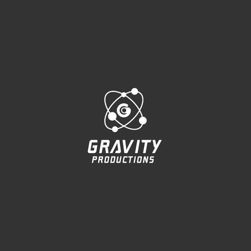 Gravity logo with the title 'Gravity Productions'