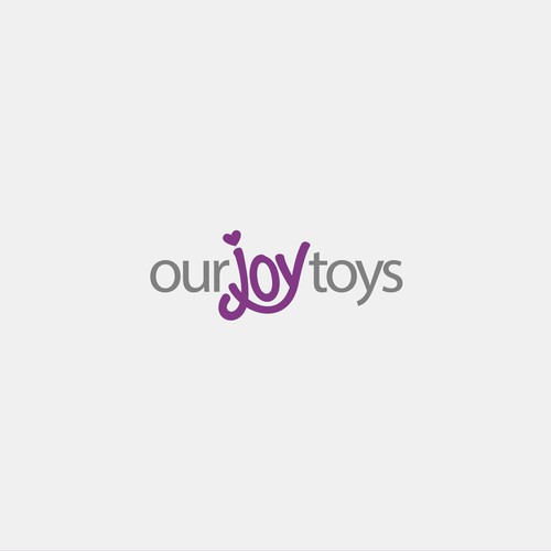 Lingerie logo with the title 'Logo for Our Joy Toys'