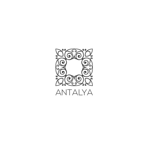 Oriental logo with the title 'Antalya'
