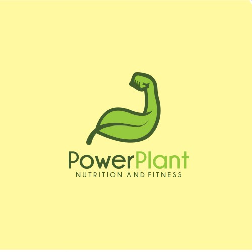 Fitness logo with the title 'Bold and creative logo concept for nutrition and fitness company'