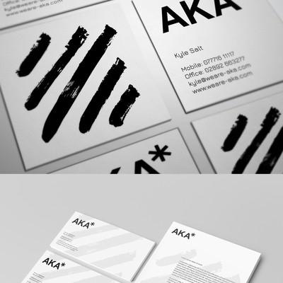 Stationery Design For AKA