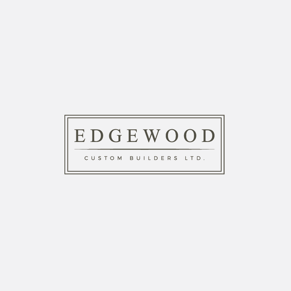 Builder logo with the title 'Edgewood'