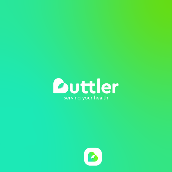 Apple logo with the title 'Buttler'