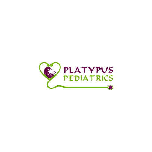 Platypus design with the title 'Platypus Pediatrics'
