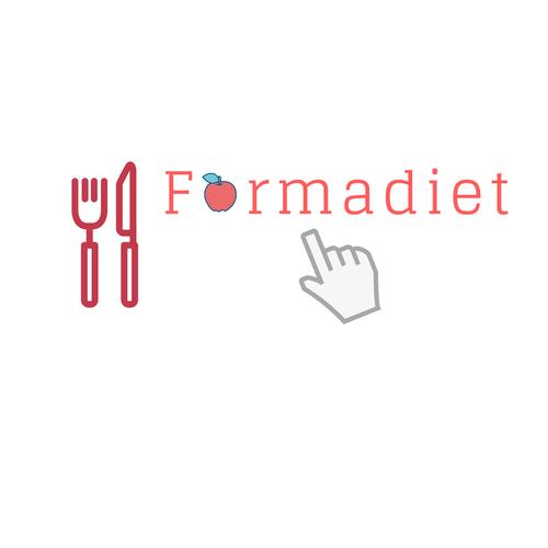 E-learning logo with the title 'Logo pour un site de e-learning dietétique'