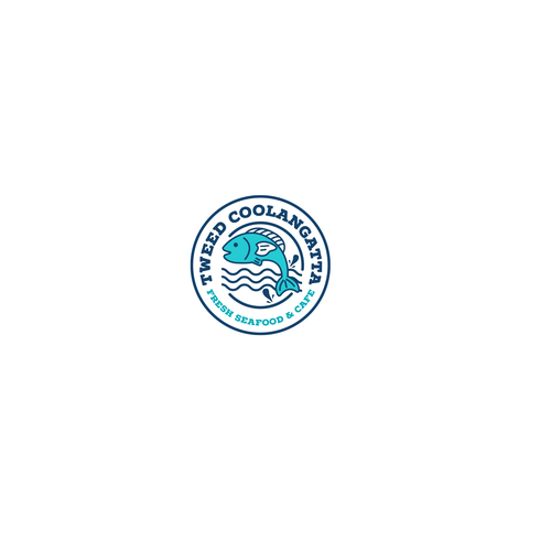 Cafe logo with the title 'Tweed Coolangatta Fresh Seafood'