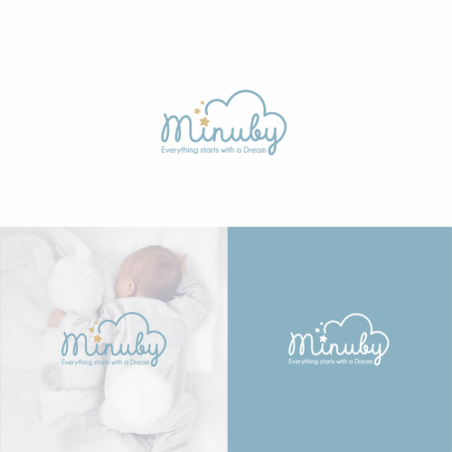 Simple logo with the title 'Simple logo design'