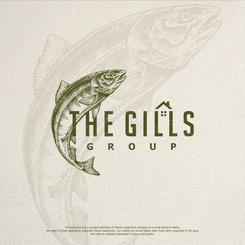 Naval logo with the title 'unused logo The Gills'