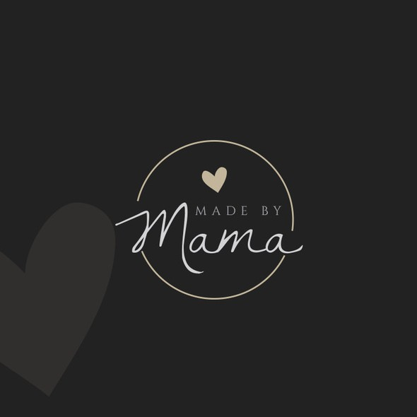 Mama design with the title 'Logo for a candle brand'