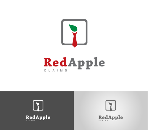 Injury logo with the title 'Red Apple Claims'