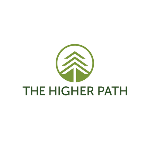 Evergreen logo with the title 'The Higher Path'