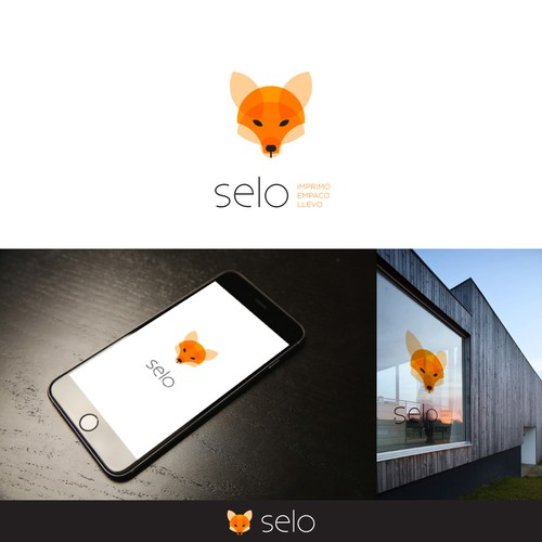 Head design with the title 'Logo Design for selo'