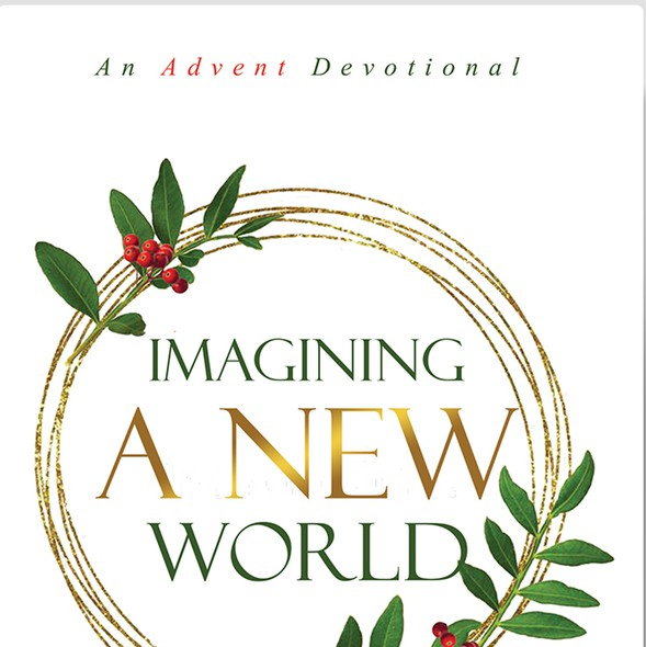 Devotional book cover with the title 'IMAGINING A NEW WORLD'