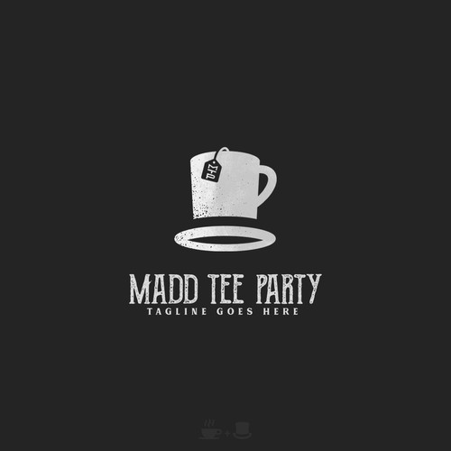 Magician logo with the title 'Madd Tee Party'